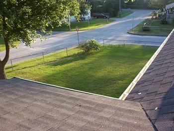 house asphalt roofing