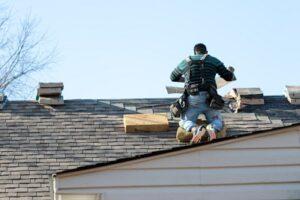 asphalt roof installation